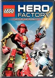 Lego Hero Factory: Rise Of The Rookies DVD - Y30538 DVDW