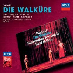 Birgit Nilsson, Leonie Rysanek, James King - Wagner: Die Walkure CD - 002894783061