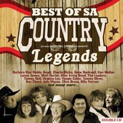 Best Of SA Country Legends CD - CDEMIMD 460