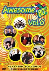 Awesome 80's Music Video Collection Vol. 6 DVD - DVBSP3271