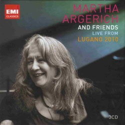 Martha Argerich - Live From Lugano 2010 CD - 50999 0708362
