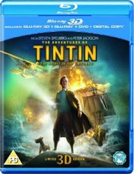 The Adventures Of Tintin: The Secret Of The Unicorn 3D & 2D Blu-Ray Blu-Ray - SL3DB130611 BDP