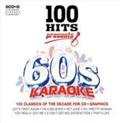 100 Hits 60's Karaoke CD - DMG100051