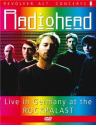 Radiohead - Live In Germany At The Rockpalast DVD - REVDVD504