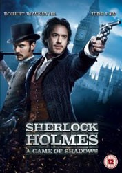 Sherlock Holmes: A Game Of Shadows DVD - Y31152 DVDW