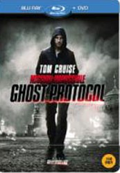 Mission Impossible: Ghost Protocol BD & DVD Steel Book Combo Blu-Ray+DVD - ELSB130607 BDP