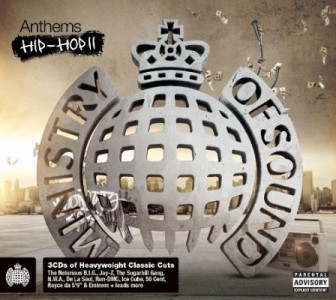 Ministry Of Sound: Anthems Hip Hop II CD - MOSCD276