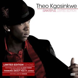 Theo Kgosinkwe - Grateful - Deluxe Limited Edition CD+DVD - CDGURB 160