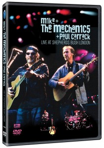 Mike And The Mechanics And Paul Carrack - Live At Shepherd's Bush, London DVD - 50363 6981769