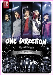 One Direction - Up All Night - The Live Tour DVD - DVRCA7348