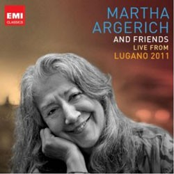 Martha Argerich - Live From Lugano 2011 CD - CDS 6447012