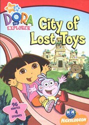 Dora The Explorer: City Of Lost Toys DVD - EC110193 DVDP