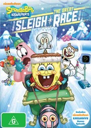 Spongebob Squarepants:The Great Sleigh Race DVD - EU131372 DVDP