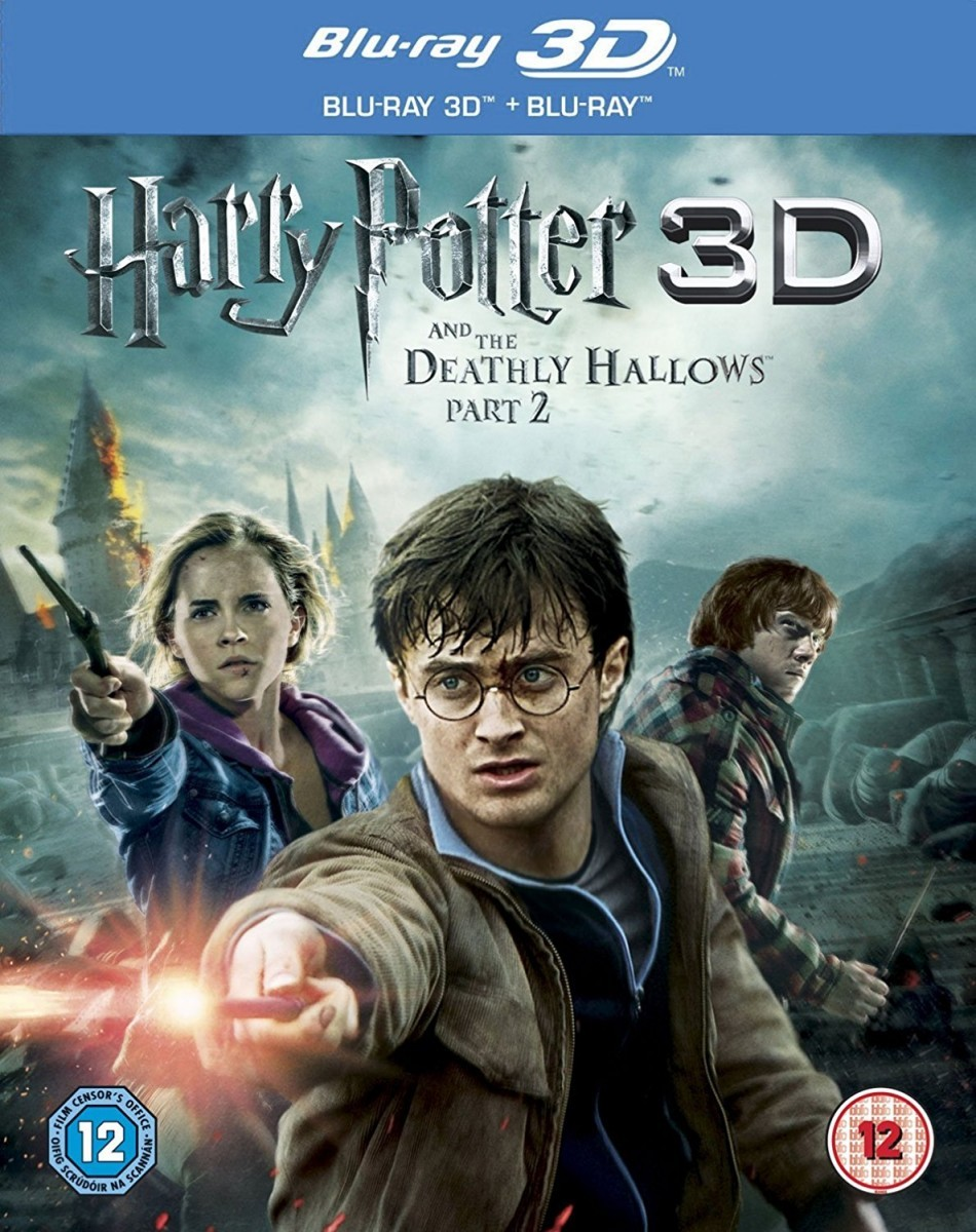 Harry Potter and the Deathly Hallows: Part 2 Blu-Ray+3D Blu-Ray - DY30446 BDW