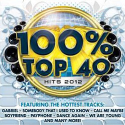 100% Top 40 Hits 2012 CD - CSRCD 360