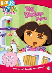 Dora The Explorer: Big Sister Dora DVD - EU112941 DVDP