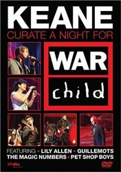 Keane - Curate A Night For War Child DVD - EVDVD132