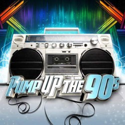 Pump Up The 90's CD - DGR1890