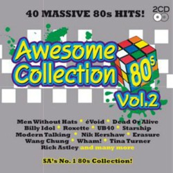 Awesome 80's Collection Vol.2 CD - CDBSP3275