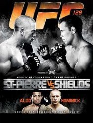 St Pierre Vs Shields DVD - UFCDVD129