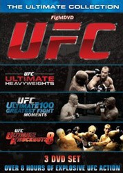 Ultimate Collection: Ultimate Heavyweights / Ultimate 100 Greatest Fight Moments / Ultimate Knockouts 3Dvd DVD - UFCSDVD61