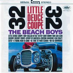 The Beach Boys - Little Deuce Coupe Remastered CD - 50999 4044242