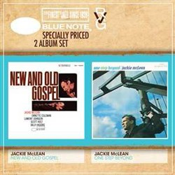 Jackie Mclean - RVG 2 For 1: New And Old Gospel & One Step Beyond CD - CDSTBND 1317