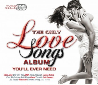 The Only Love Songs Album You'll Ever Need CD - DGCD 163