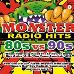 Monster Radio Hits: 80s Vs 90s CD - CDBSP3287