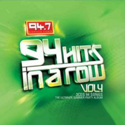 94 Hits In A Row Vol.4 CD - CDJUST 599
