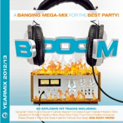 Booom Yearmix 2012/13 CD - NEXTCD409