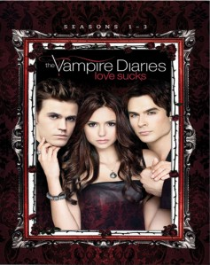 The Vampire Diaries Boxset - Season 1 -3 DVD - 90396 DVDW