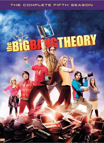The Big Bang Theory Season 5 DVD - Y31772 DVDW