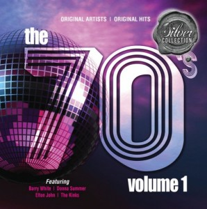 Silver Collection: The 70's Volume 1 CD - BUDCD 1382