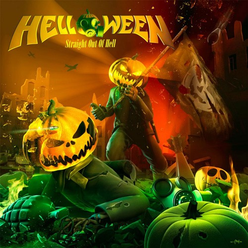 Helloween - Staright Out Of Hell CD - 88765418122
