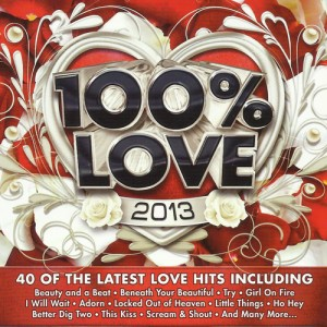 100% Love 2013 CD - CSRCD 365