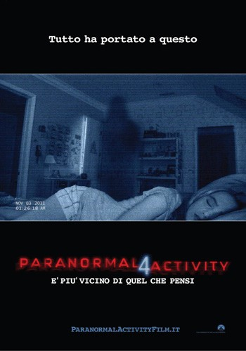 Paranormal Activity 4 DVD - EL132567 DVDP