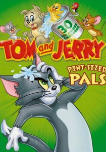 Tom And Jerry: Pint-Sizes Pals DVD - Y32523 DVDW