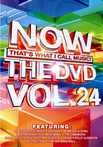 Now That's What I Call Music! The DVD Vol. 24 DVD - DVDNOW 24