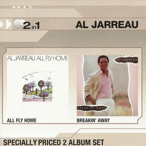 Al Jarreau - 2 In 1: Ally Fly Home / Breakin' Away CD - CDWT 1258
