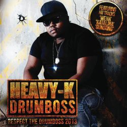 Heavy K - Respect The Drumboss 2013 CD - CDRBL 701