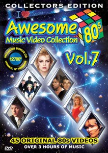 Awesome 80's  Music Video Collection Vol. 7 DVD+CD - DVBSP3301