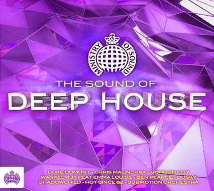 Ministry Of Sound - The Sound Of Deep House CD - CDJUST 631