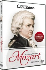 Mozart - A Life In Music DVD - GRDC4057