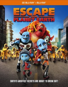 Escape from Planet Earth 3D + 2D Blu-Ray - 10222215