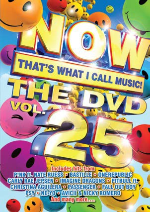 Now That's What I Call Music! The DVD Vol. 25 DVD - DVBSP3304