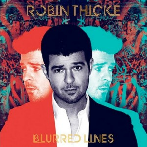 Robin Thicke - Blurred Lines CD - 06025 3745689