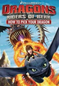 DreamWorks Dragons: Riders of Berk - How To Pick Your Dragon DVD - 56909/2 DVDF