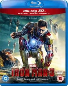 Iron Man 3 3D Blu-Ray+Blu-Ray - 10222658