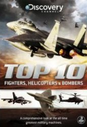 Top 10 Fighters, Helicopters & Bombers DVD - GRDA4262